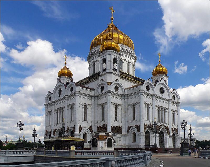 Храм Христа Спасителя в Москве  информация для туристов